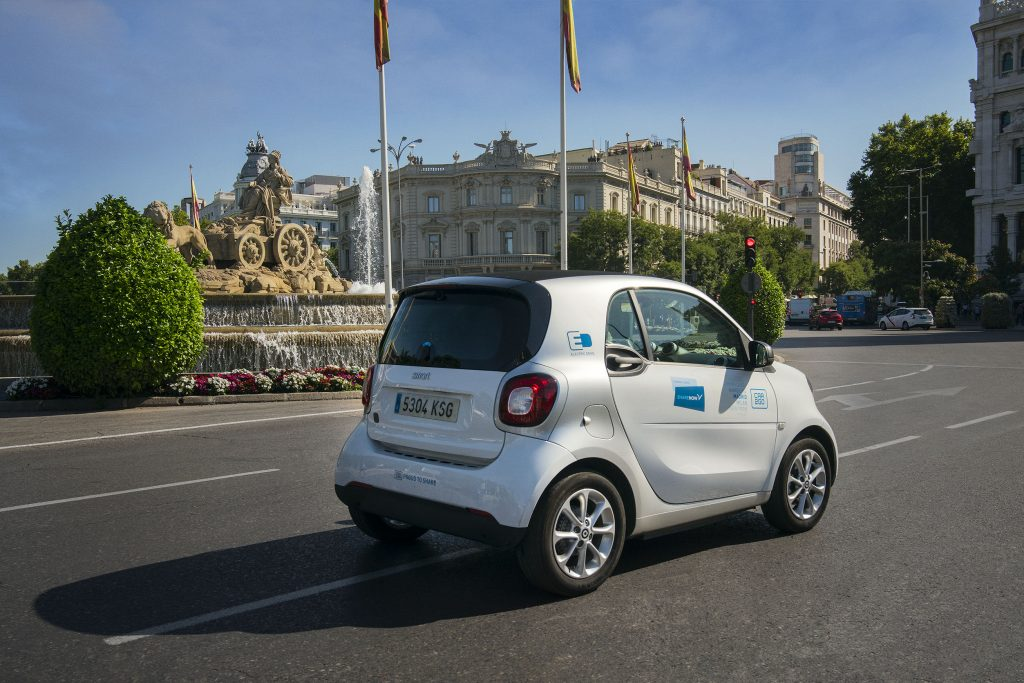 A Share NOW car, another solution for a more sustainable tourism