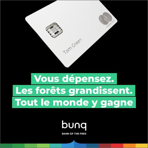 Bunq : un tourisme durable passe aussi par une banque durable