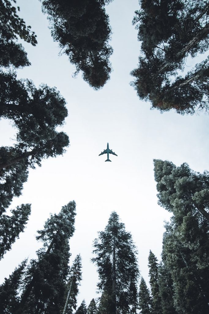 Is plane a threat to sustainable tourism?